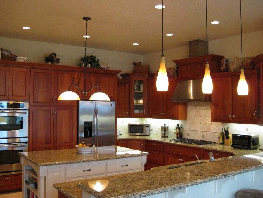 Residential Electrical Services. Sample of Kitchen lighting design