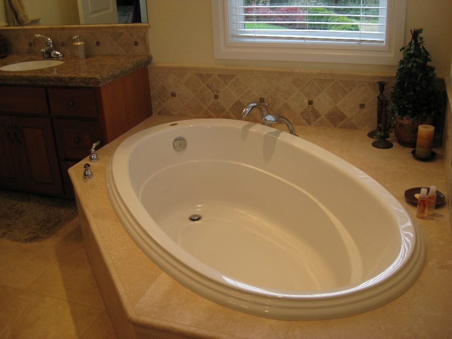 Indoor Jacuzzi (installed by Thornton Electric)